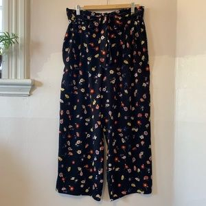 ⚡️SALE⚡️ ZARA floral print wide leg pants